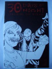 30 Days of Night Spreading the Disease #2 Sketch Variant